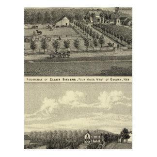 Sievers y Eicke, Nebraska Postal