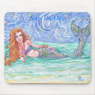 Sieze the Day Mouse Pads
