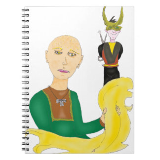Sif And Loki Notebook