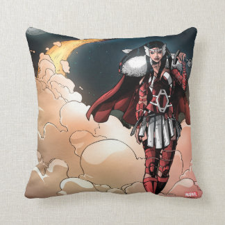 Sif In Moonlight Throw Pillow