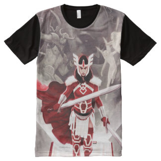 Sif Journey Into Mystery Cover All-Over-Print Shirt