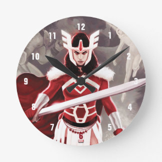 Sif Journey Into Mystery Cover Round Clock