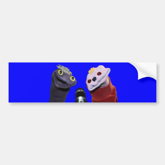 Sifl and Olly Mic Bumper Sticker