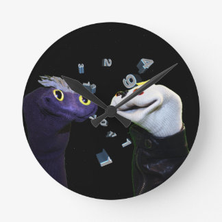 """Sifl and Olly """"Space & Time"""" Clock"""