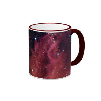 sig07-006 Red dust sky cloud Ringer Coffee Mug
