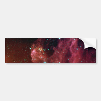 Sig07-006 Red dust sky cloud NASA Bumper Sticker