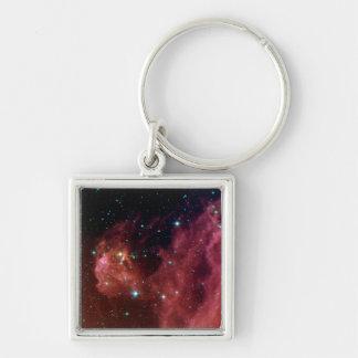 Sig07-006 Red dust sky cloud NASA Keychain