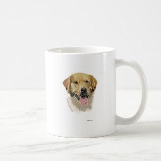 Sig del golden retriever taza de café