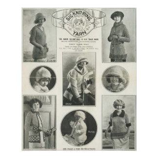 Sig-Knit-Ring Yarn 1923 Print
