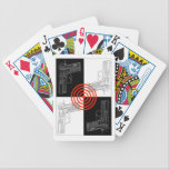 "Sig Sauer P229 Playing Cards<br><div class=""desc"">Sig Sauer P229 Engineering Drawing with Bullseye Playing Cards</div>"
