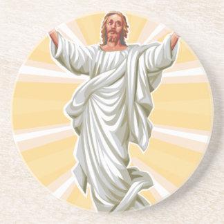 Siga a Jesús Posavasos Diseño