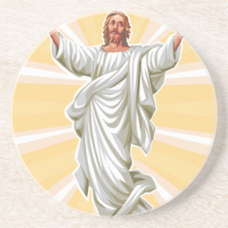 Siga a Jesús Posavasos Para Bebidas