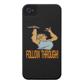 Siga a través iPhone 4 Case-Mate cárcasas