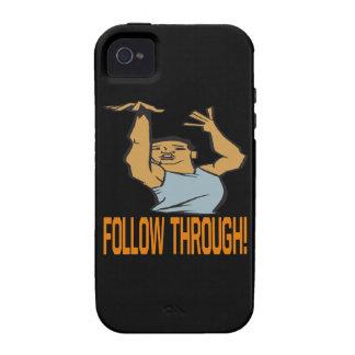 Siga a través iPhone 4 carcasa