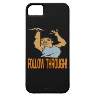 Siga a través funda para iPhone 5 barely there
