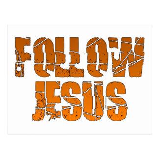 Siga al cristiano de Jesús Postal