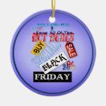 Siga la camisa Mí-Negra de viernes Ornamentos De Reyes