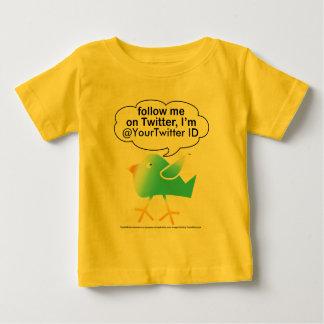 Siga la enredadera de Me@ Babys Playera Para Bebé