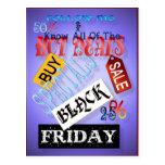 Siga la postal Mí-Negra de viernes