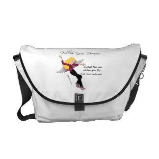 Siga la su bolsa de mensajero de los sueños bolsas messenger