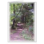 Siga la trayectoria de su corazón tarjeta