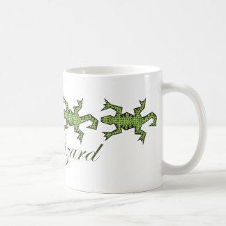 Siga las tazas del lagarto