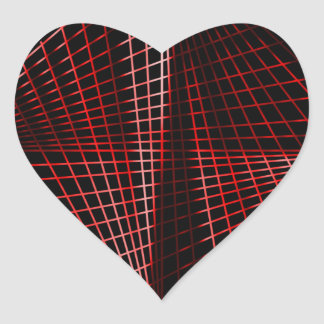 Siga Pegatina En Forma De Corazón