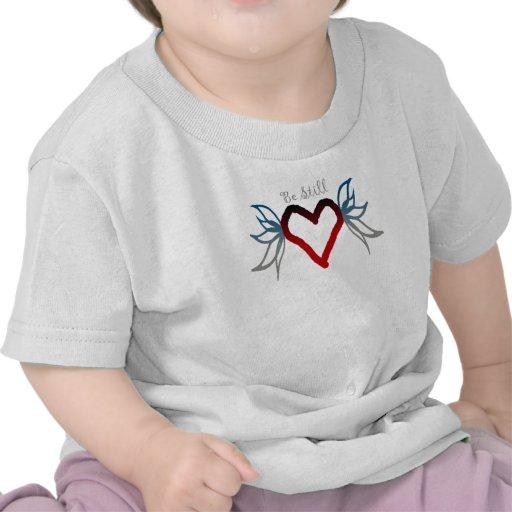 Siga siendo corazón camisetas