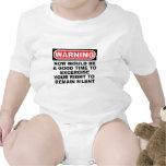 Siga siendo silencioso traje de bebé