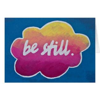"""""""Siga siendo"""" tarjeta de felicitación inspirada"""