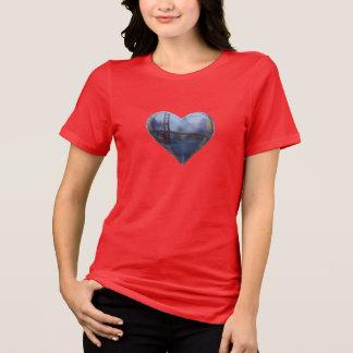 Siga su corazón San Fran Camiseta