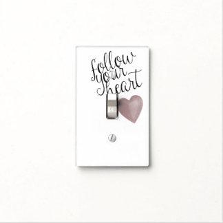 Siga su corazón tapas para interruptores