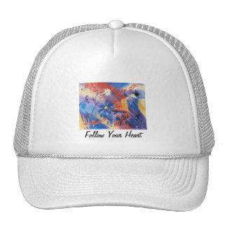 Siga su gorra del corazón