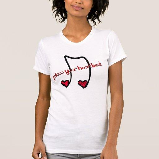 Siga su Hearbeat Tee Shirts