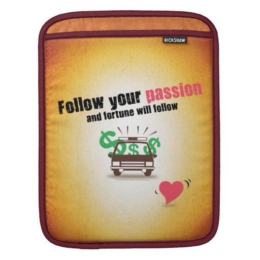 Siga su pasión mangas de iPad