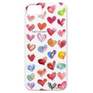 Siga su universal del iphone 5 del corazón iPhone 5 Case-Mate fundas
