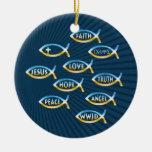 Sígalo - ornamento cristiano adorno de navidad
