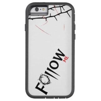 Sígame - cubierta rugosa del iPhone 6 cristianos Funda De iPhone 6 Tough Xtreme