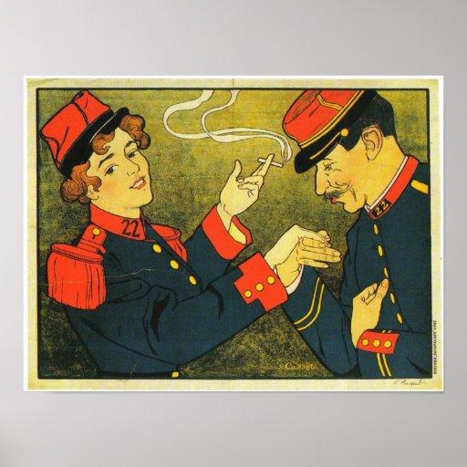 Sigaretten Poster