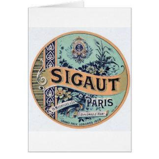 SIGAUT PARIS CARD