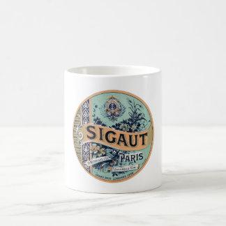 Sigaut Paris - Victorian Advertising Label Coffee Mug