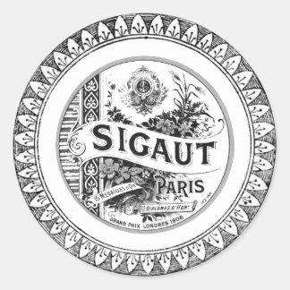 Sigaut Classic Round Sticker