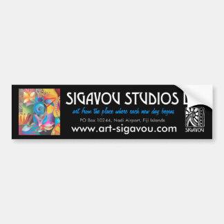 SIGAVOU STUDIOS CAR BUMPER STICKER