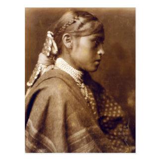 Sigesh (Apache girl) Postcard