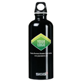 SIGG Black Water Bottle .6L Custom Company Logo