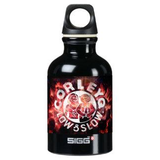 "SIGG water bottle (.3, .6, 1 L.) w/ ""Fire"" design"