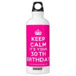 [Crown] keep calm it's your 30th birthday  SIGG Water Bottles SIGG Traveler 0.6L Water Bottle