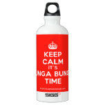[Crown] keep calm it's bunga bunga time  SIGG Water Bottles SIGG Traveler 0.6L Water Bottle