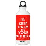 [Cupcake] keep calm its your birthday  SIGG Water Bottles SIGG Traveler 0.6L Water Bottle