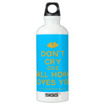 [Two hearts] don't cry coz niall horan loves you  SIGG Water Bottles SIGG Traveler 0.6L Water Bottle